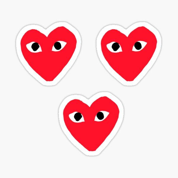 Comme Des Garçons Play Sticker