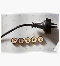 Word of the day: POWER Poster