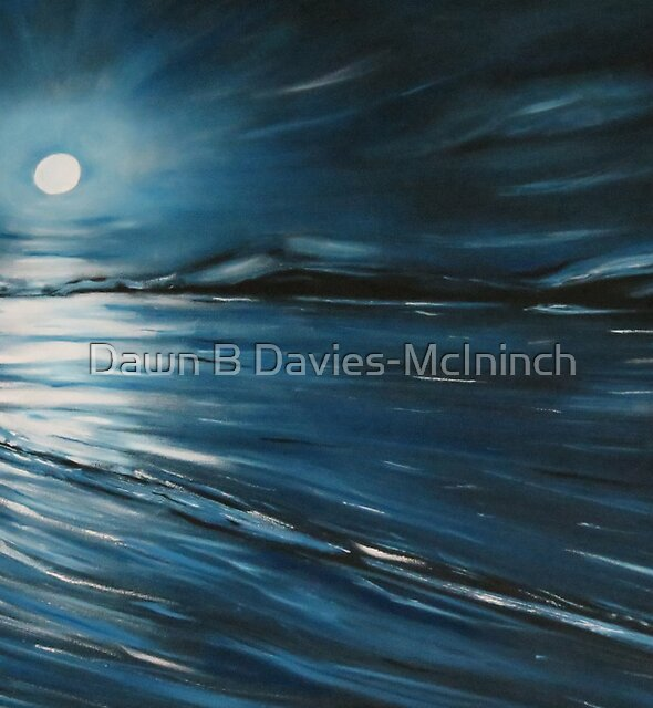 Blue Moon by Dawn B Davies-McIninch