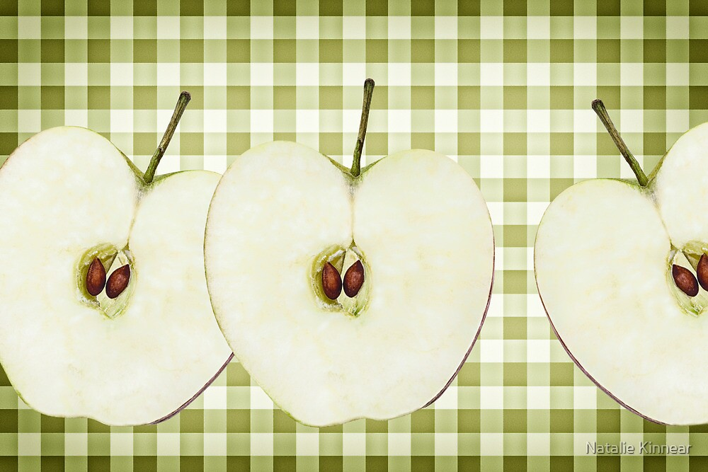 Country Style Apple Slices by Natalie Kinnear