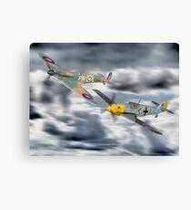 Corgi Aviation Ahrchive 1940 - 2000 Battle Of Britain Set ! Canvas Print