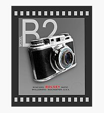 Bolsey 35mm Camera Ad Photographic Print