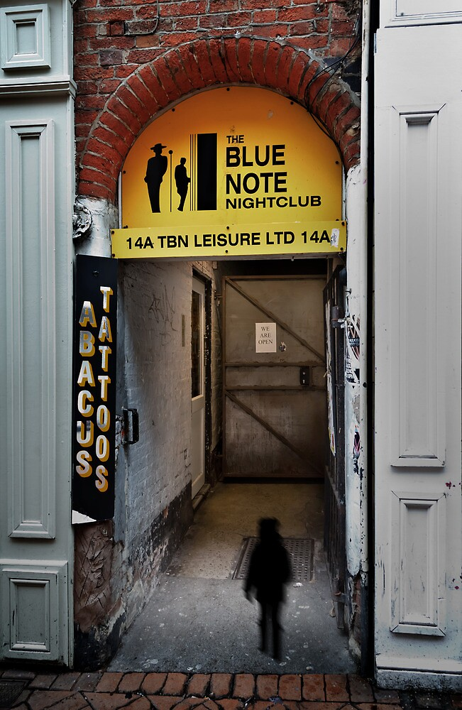 The blue note by jasminewang