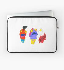 Tony Curtis and Curtis Tony (without grass) Laptop Sleeve