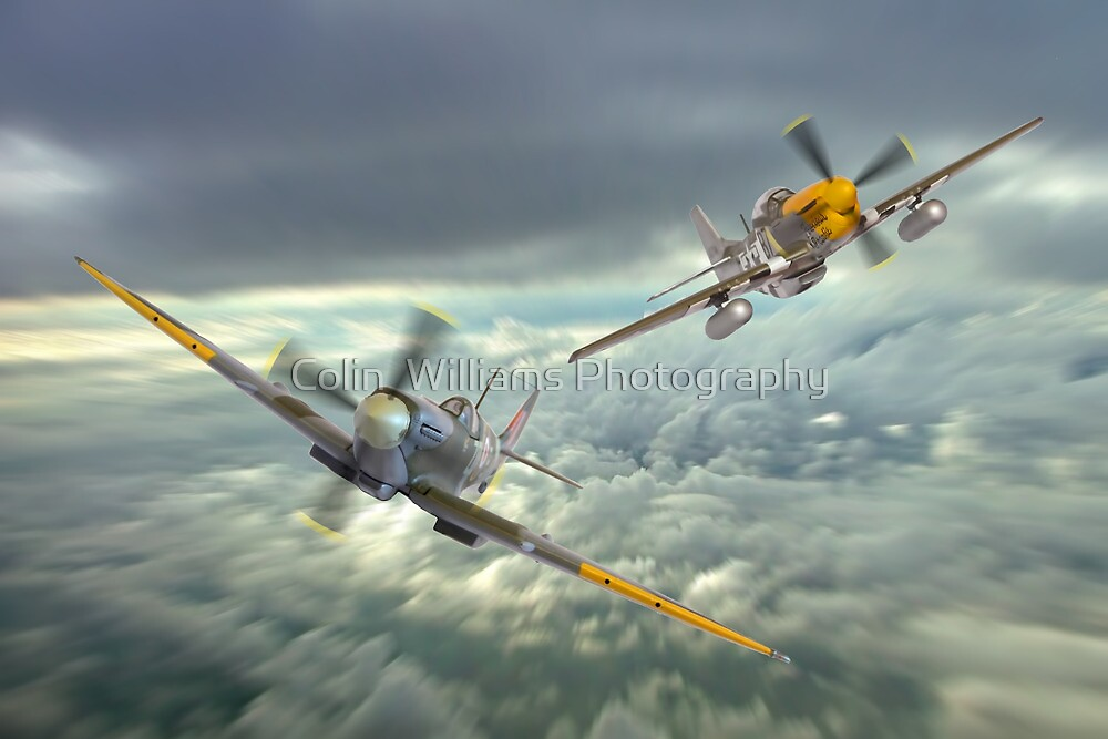 The Old Flying Machine Company - MH434 And Ferocious Frankie by Colin  Williams Photography
