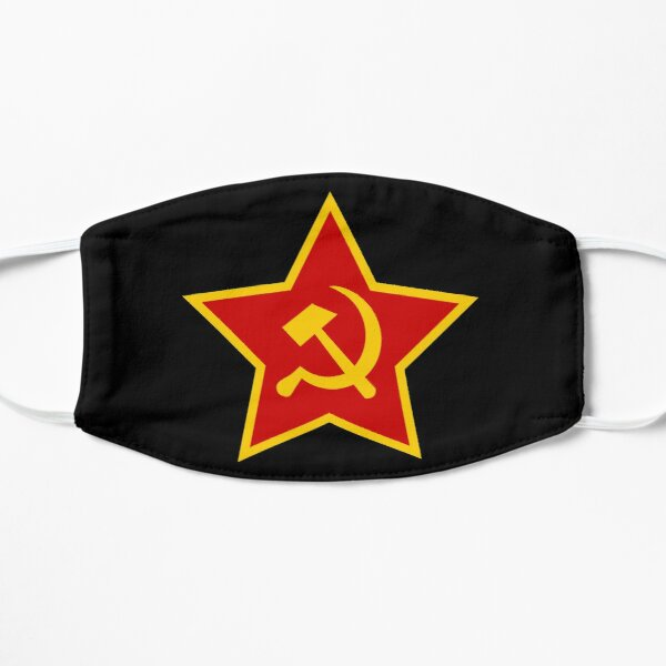 Soviet Red Army Hammer and Sickle ☭ Mask