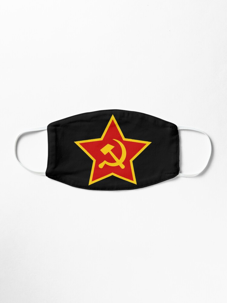 Soviet Red Army Hammer and Sickle: Mask