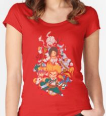Fantasy Quest IX Women's Fitted Scoop T-Shirt