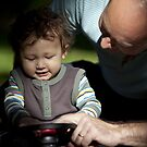 Father & Son by Lucy Johnston