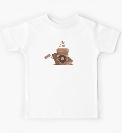 Caffeinated Love Kids Clothes