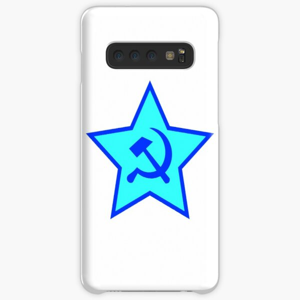 Blue Star, Hammer, and Sickle Samsung Galaxy Snap Case