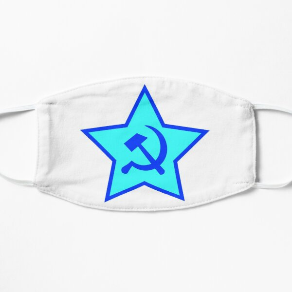 Blue Star, Hammer, and Sickle Mask