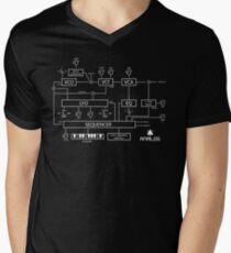 Analog Men's V-Neck T-Shirt