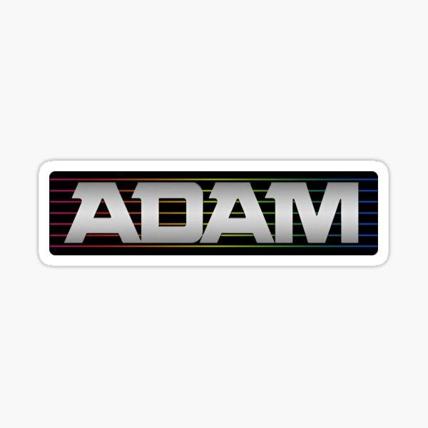 ADAM Computer Sticker