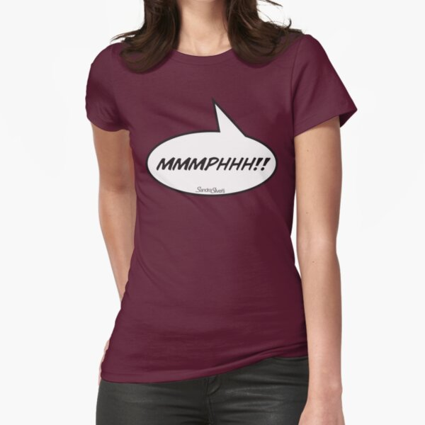 The MMMPHHH! Shirt from FetishCon Fitted T-Shirt
