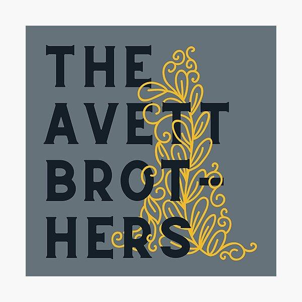 The Avett Brothers // Ornament Illustration Photographic Print