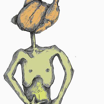Chikken head by deadrabbit82