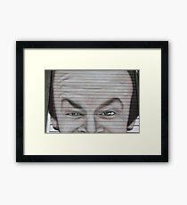 Streetart Framed Print