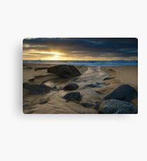 Garapata Sunset Canvas Print