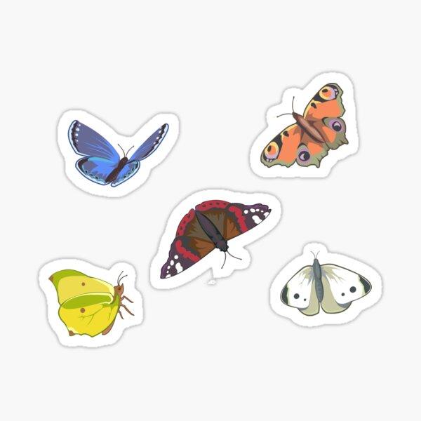 Butterflies Set Sticker