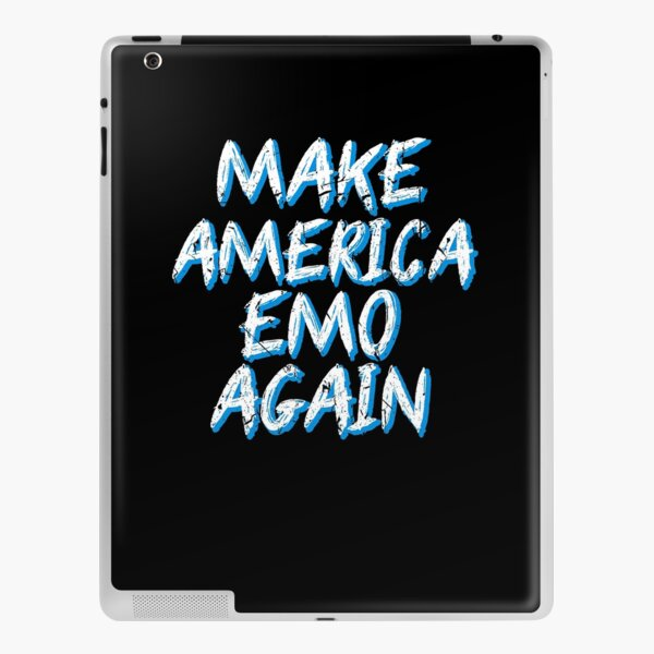 Make America Emo Again Goth Rock Musician iPad Skin