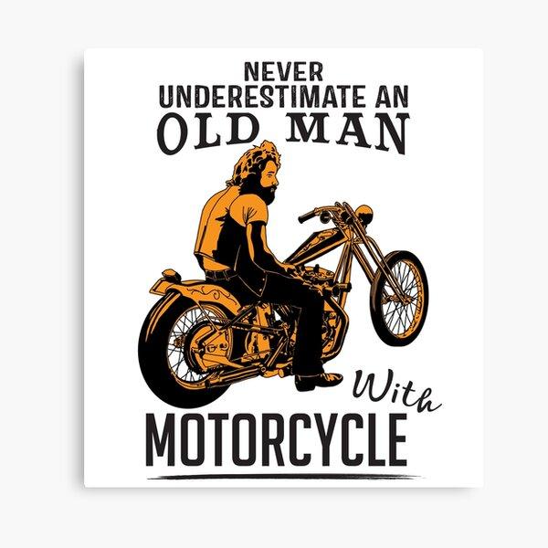Motorrad fetter mann auf 15 Dinge