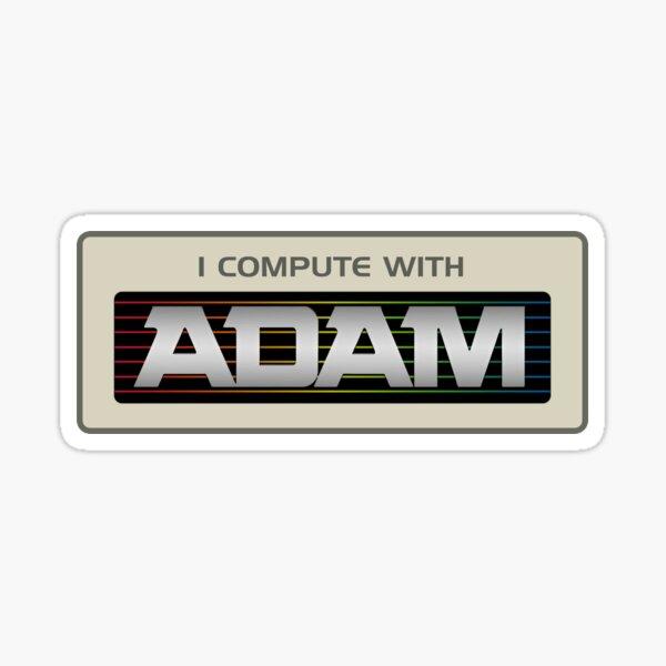 I Compute With ADAM Sticker