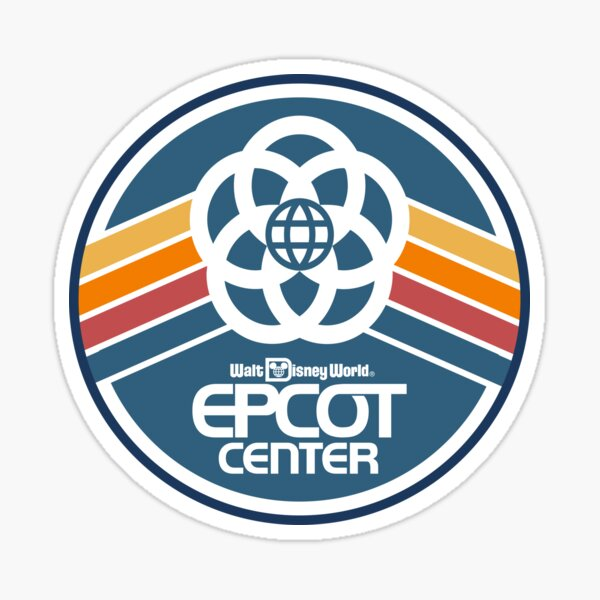 EPCOT Center badge Sticker