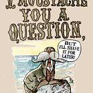 Walrus, I Moustache You a Question by MudgeStudios