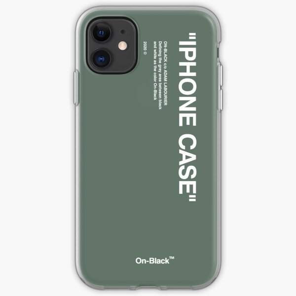 Off-White Case iPhone Soft Case