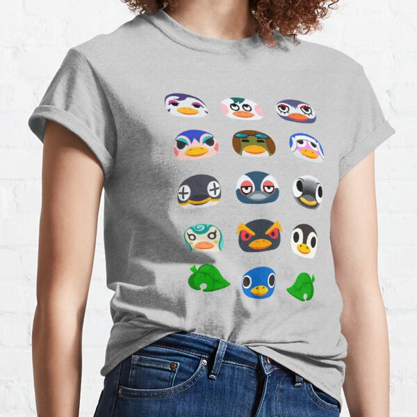 Animal Crossing Penguin Icons Classic T-Shirt