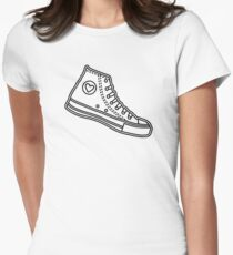Chucks Womens Fitted T-Shirt