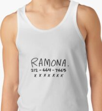 RAMONA FLOWERS Tank Top