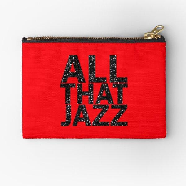 All That Jazz Zipper Pouch