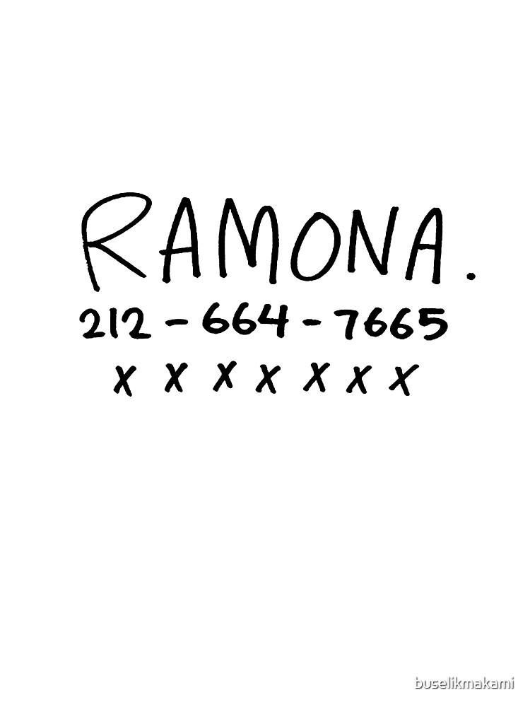 RAMONA FLOWERS by buselikmakami