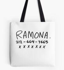 RAMONA FLOWERS Tote Bag