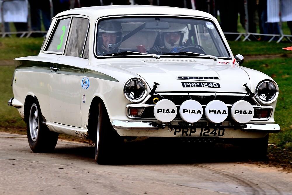 Lotus Cortina MK1 by Willie Jackson