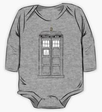Tardis (trashy) One Piece - Long Sleeve