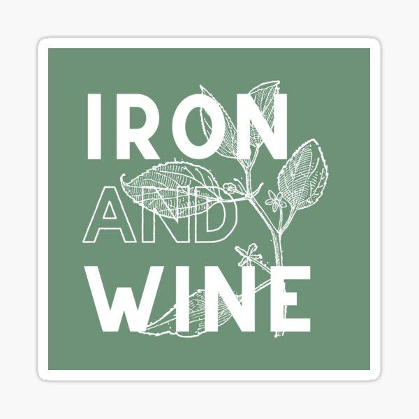 Iron and Wine Sticker