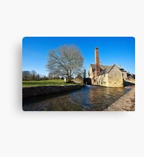 Lower Slaughter Mill Canvas Print