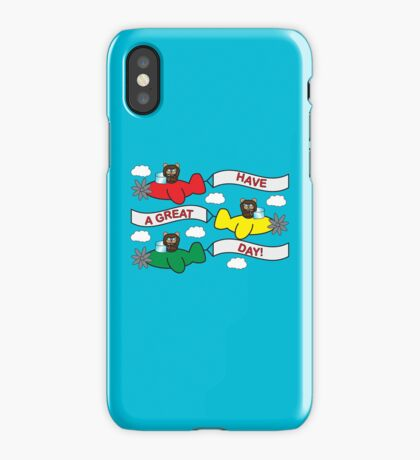 Flying Bears iPhone Case/Skin