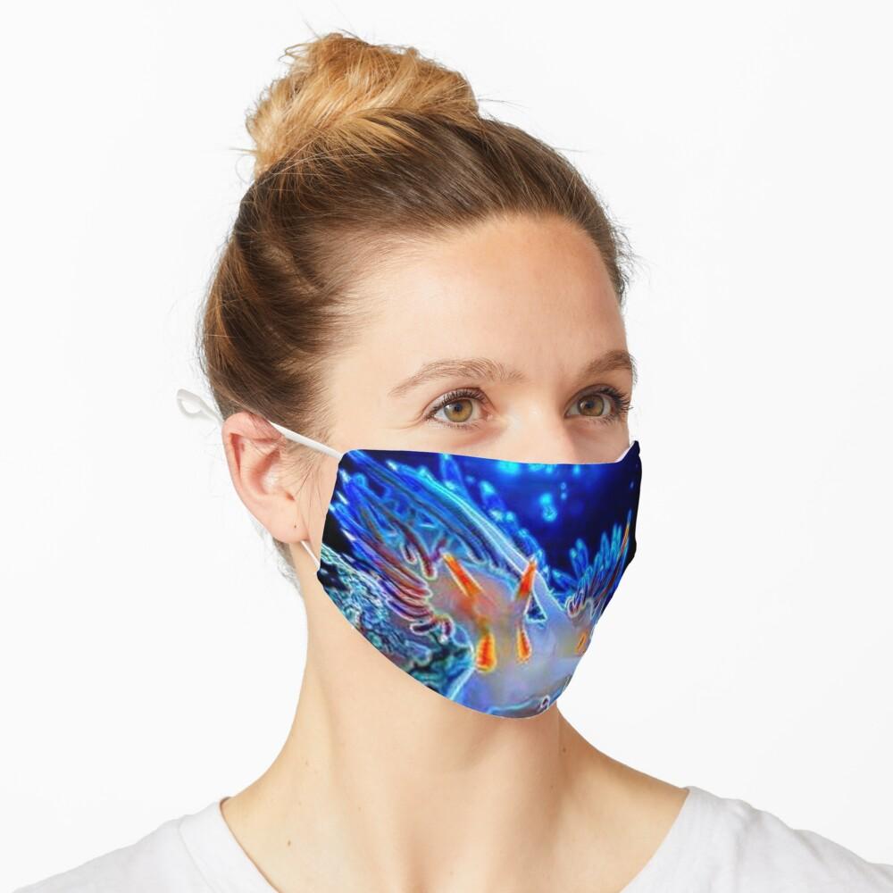 SEA OCEAN ANEMONE Mask