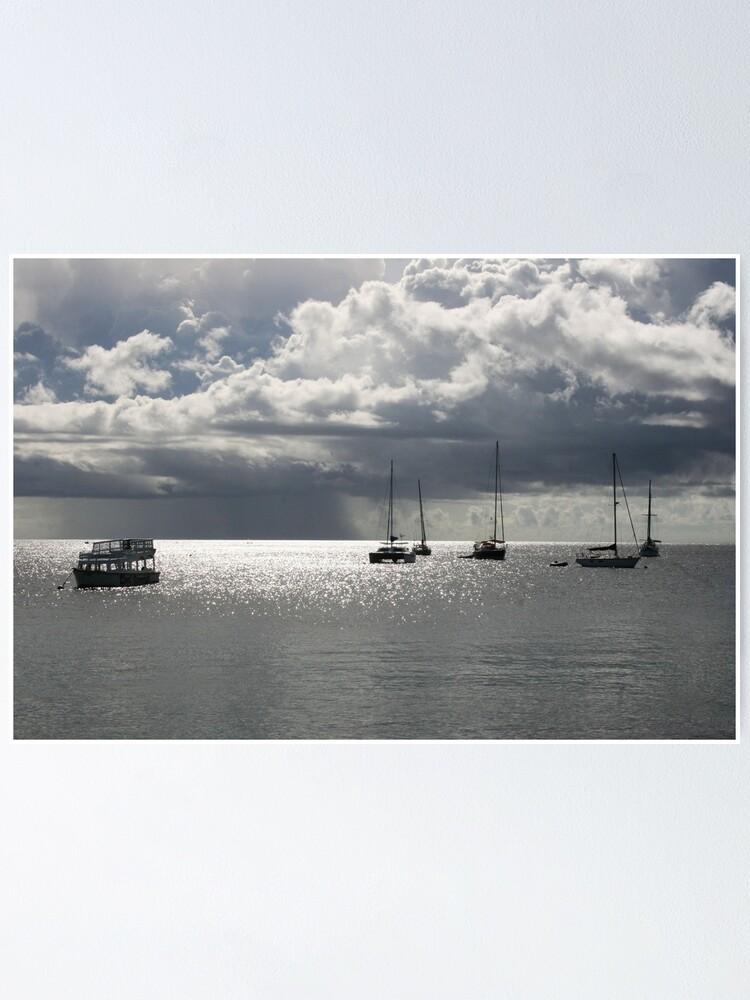 Alternate view of Boats at Store Bay, Tobago Poster