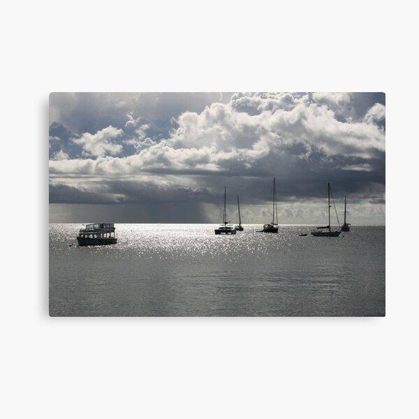 Boats at Store Bay, Tobago Canvas Print