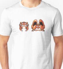Krabby evolution  Unisex T-Shirt