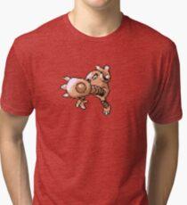 Hitmonlee evolution  Tri-blend T-Shirt