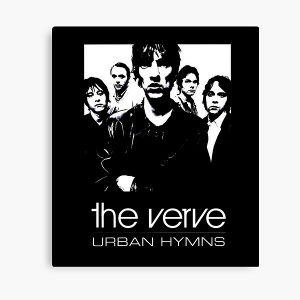 Música más popular Rock The Verve Smewew Band Música de tendencia English Rock Band Popular Internacional Urban Hyms Lienzo