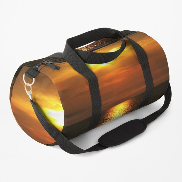 Dramatic Sunrise on the Lake Duffle Bag