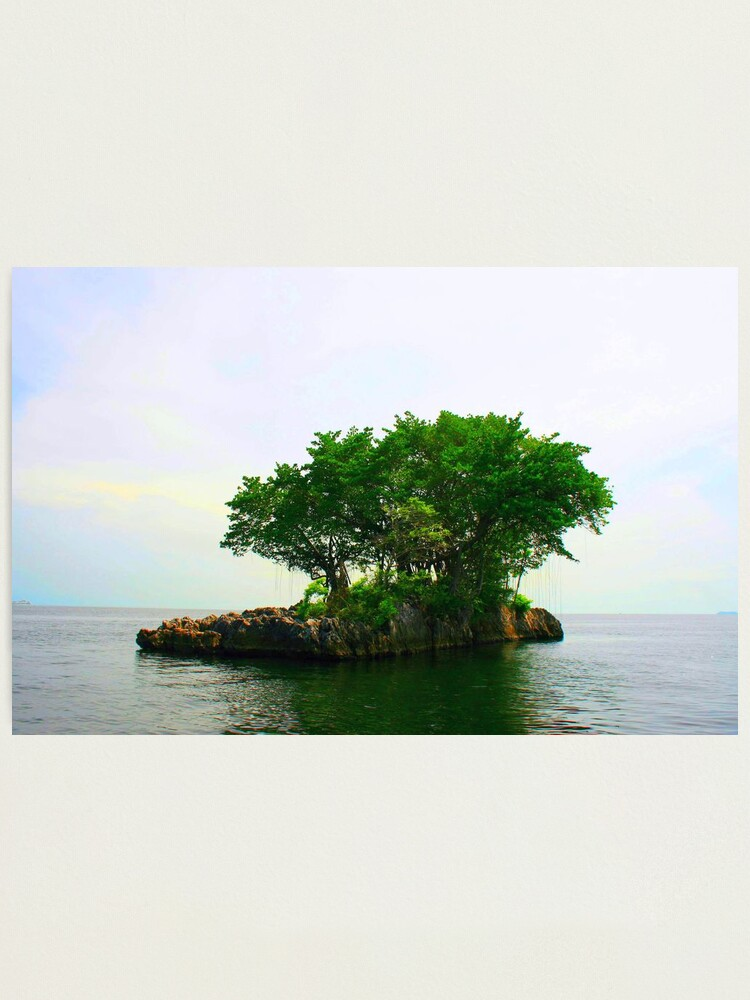 Alternate view of A Very Small Island Photographic Print