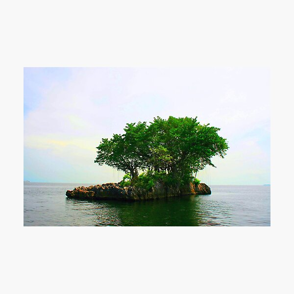 A Very Small Island Photographic Print